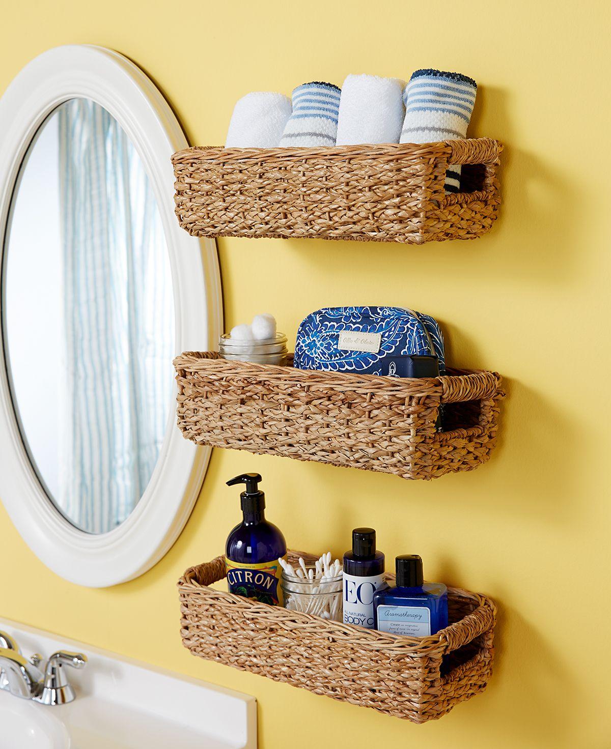 Bathroom Storage Baskets Ideas