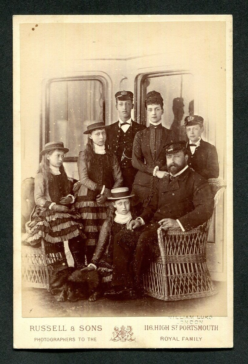Prince and Princess of Wales with their children