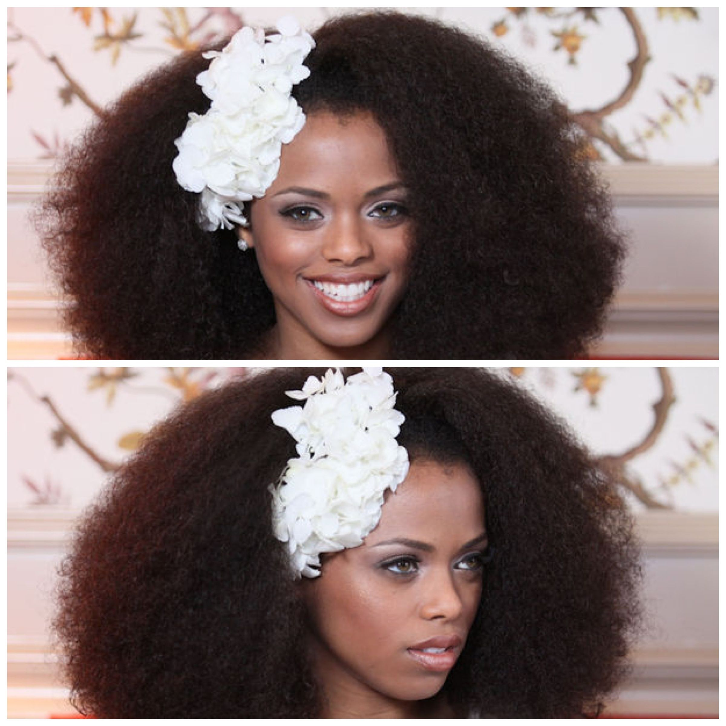 Natural Afro Caribbean Wedding Hairstyles Natural Afro