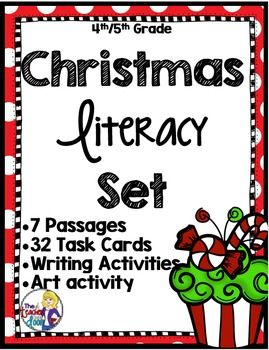 holiday writing activities for 5th grade