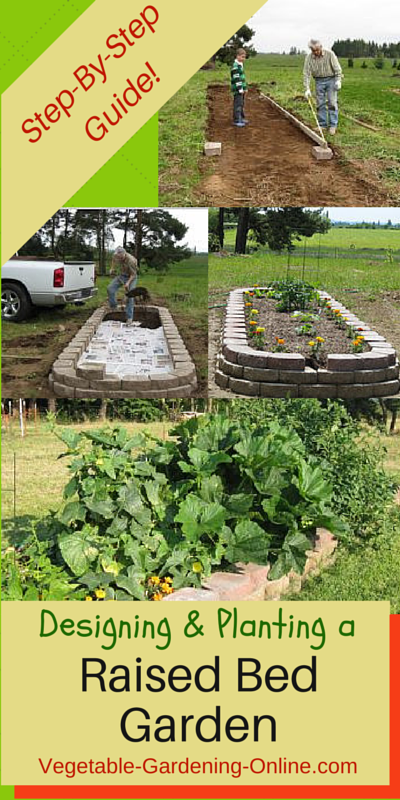 Use Our Plans For Building A Raised Bed Garden Also Our Free Online Vegetable Garden Planner Software Zone Vegetable Garden Planner Organic Gardening Plants