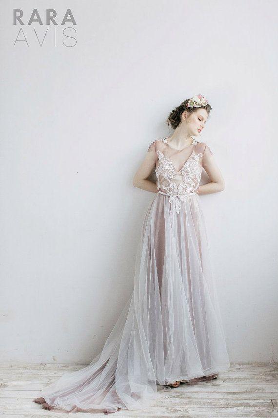 Wedding dress LIS, Boho wedding dress, beach wedding dress, bohemian ...
