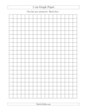 1 cm graph paper with black lines a math interactive pinterest