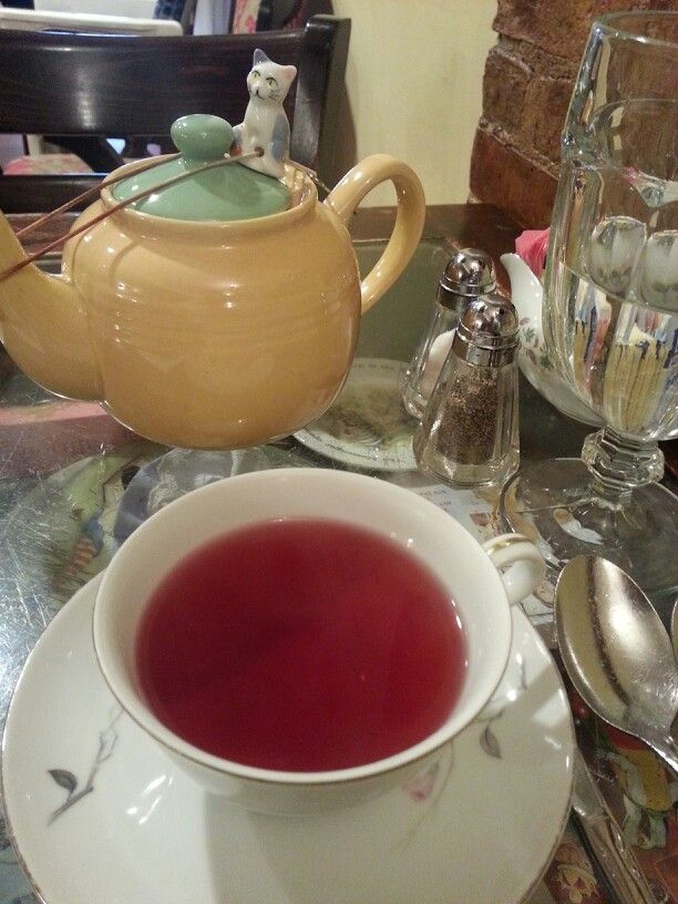 Afternoon tea at Alice's Tea Cup Chapter l - W.73rd St. NYC