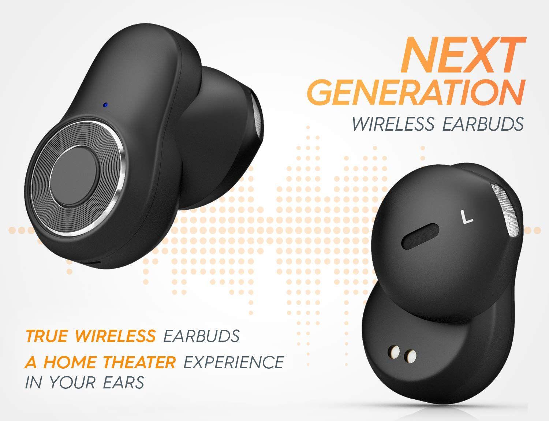 BluePhonic T5 True Wireless Ear buds in 2020 Earbuds