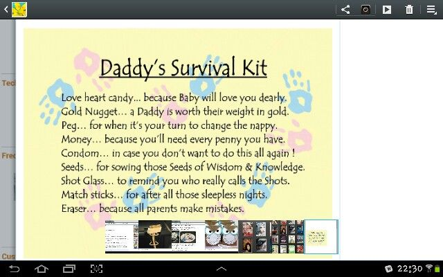Daddy S Survival Kit For New Dad S Make A Bag With All