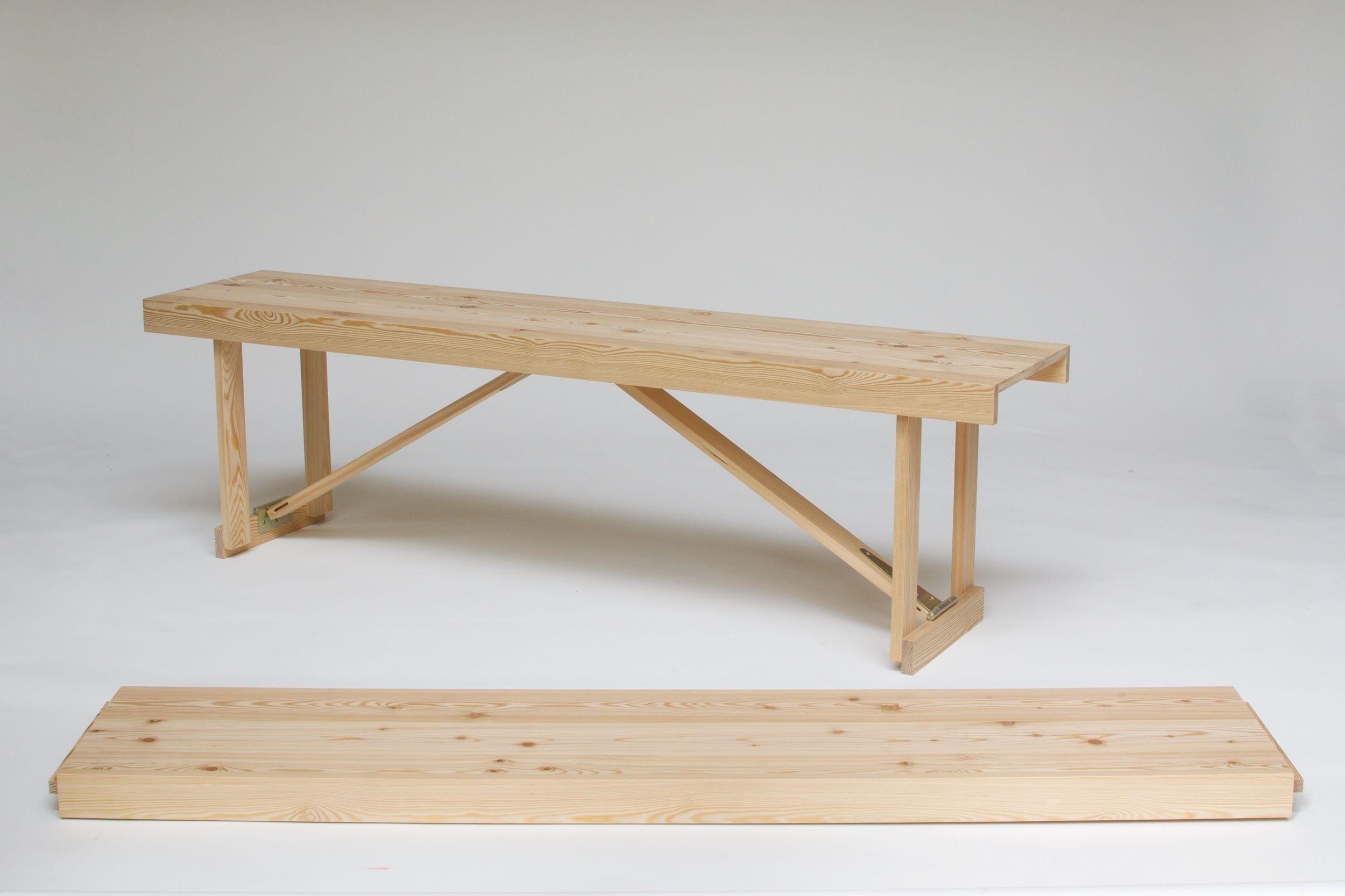 Larch Folding Bench 7 Jpg Folding Bench Bench Bench
