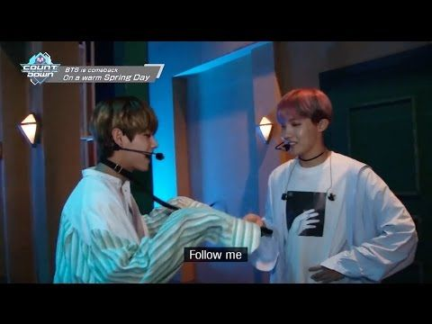 ENG] BTS - 봄날 Spring Day Behind The Scene @ Mnet M!Countdown