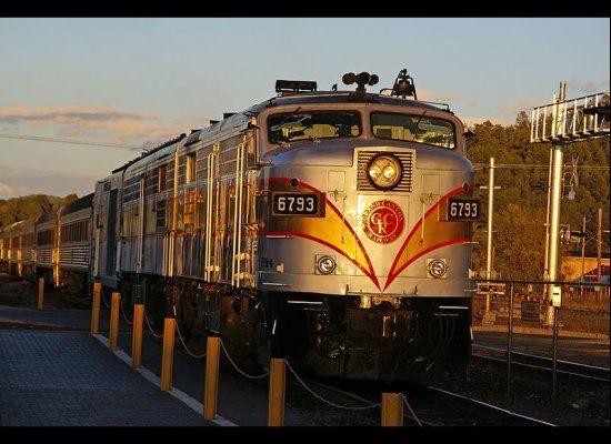 5 Best Train Trips In The U S Photos Grand Canyon
