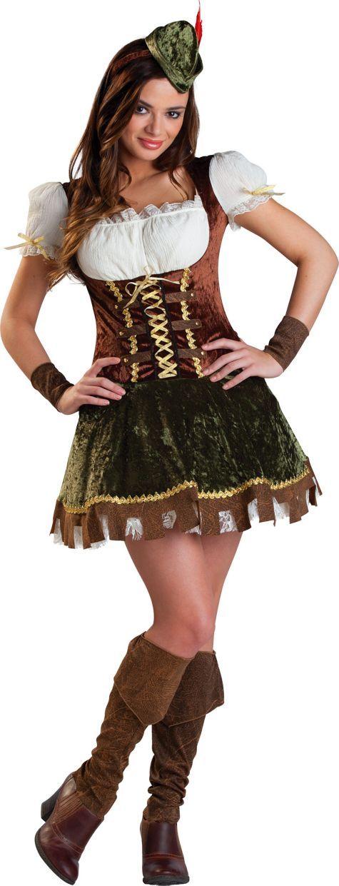 Teen Girls Robin Hood Costume - Party City