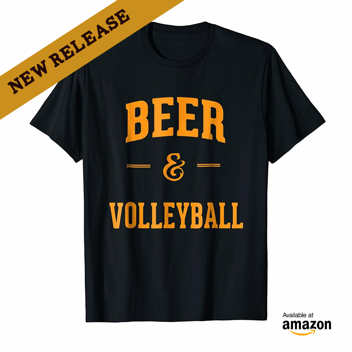 Beer & Volleyball Shirt Perfect Funny Volleyball Fans