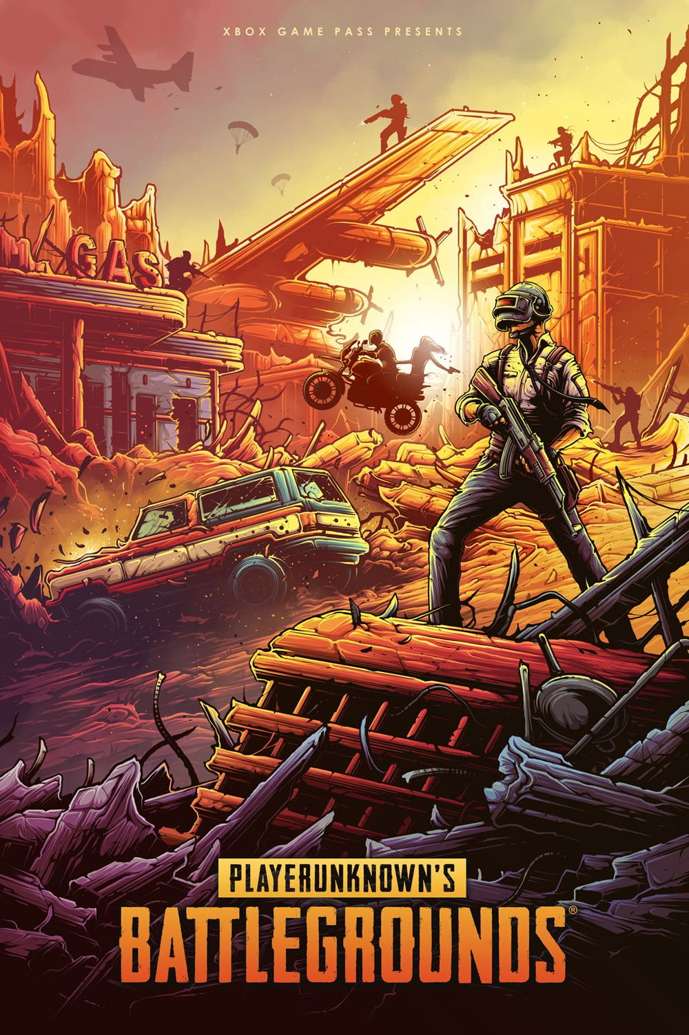 #PUBG #poster Hearthstone Battlegrounds Steam (software ...