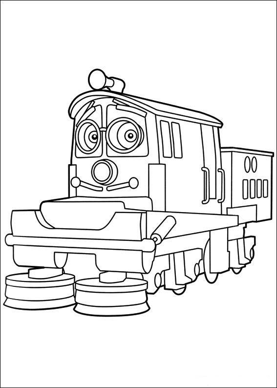 Dibujos para Colorear Chuggington 15 | Dibujos para colorear para ...