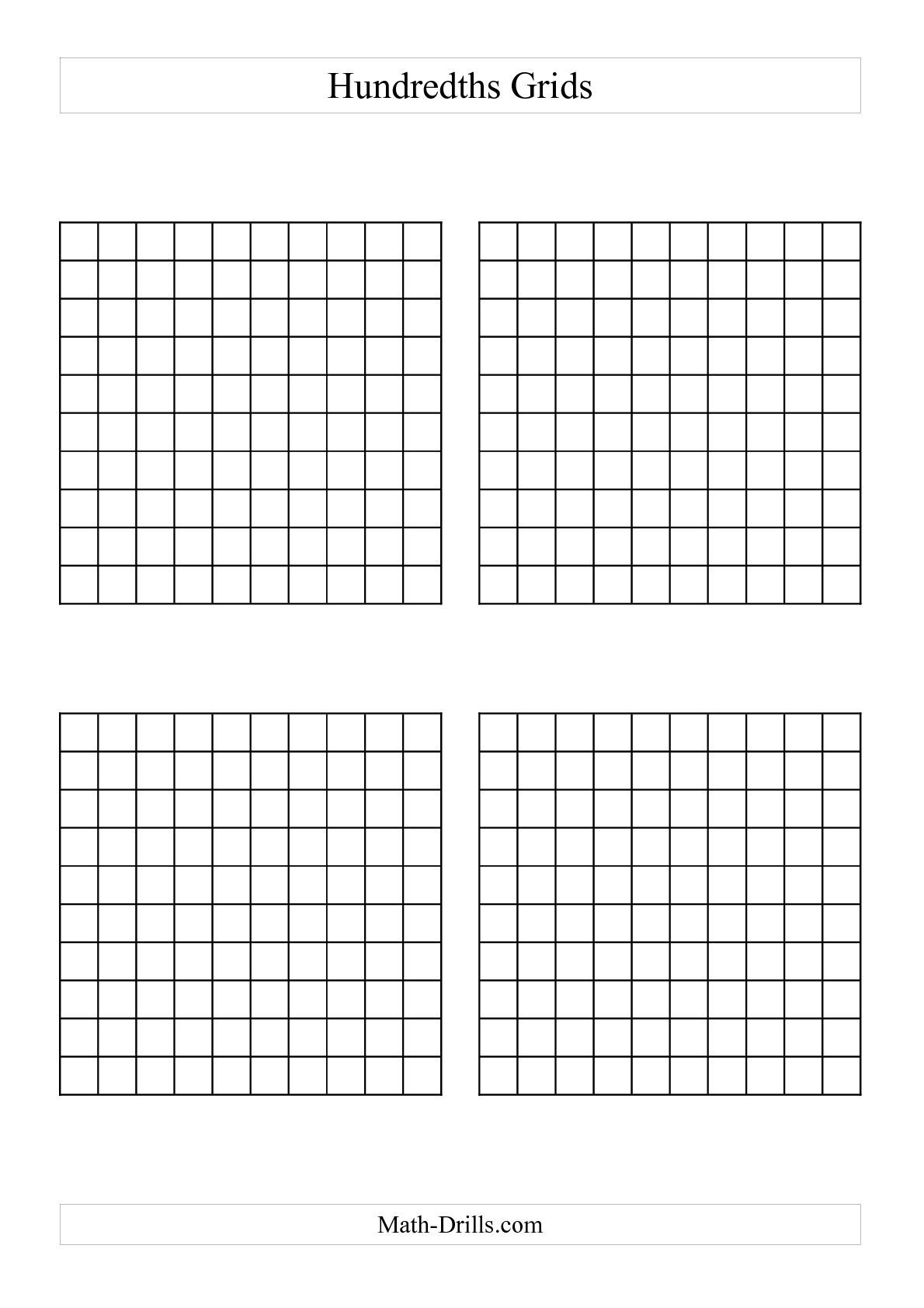 4 Quadrant Graph Paper free adding worksheets – Math Grid Paper Template