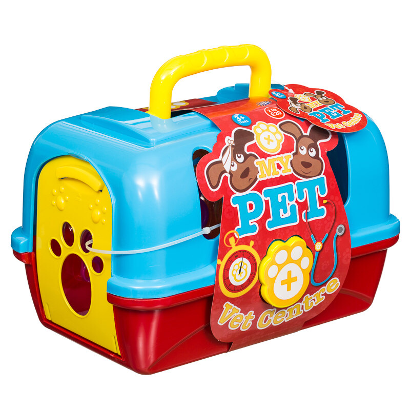My Pet Vet Centre Play Set This Dog Vet Set Includes All The Equipment For Little Ones To Care For Sick Pets That Need Special Attention 3 Years
