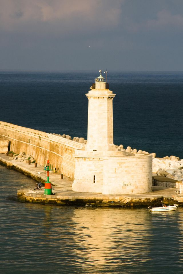 Livorno Port Lighthouse in Italy Beautiful lighthouse