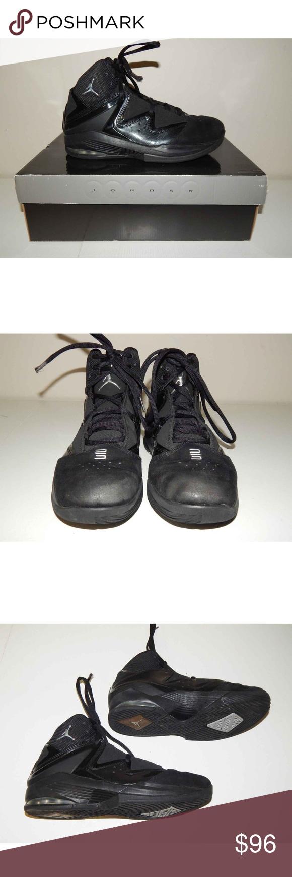 c770dea735c Jordan Pure J Mens Size 8 Black Sneakers Nike Air Jordan (Nike Air) Pure