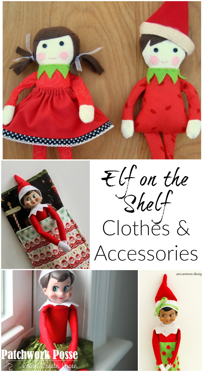 Free Elf on the Shelf Clothing Patterns and Accessories ...