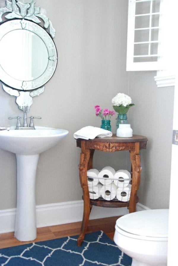 Badteppiche Lassen Ihr Bad Gemutlicher Und Einladender Wirken Bad Tisch Badezimmer Klein Haus Deko