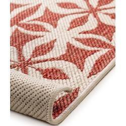 Photo of benuta Wendeteppich Terrazzo Beige/Rot 160×235 cm – Moderner Teppich für Wohnzimmer benuta