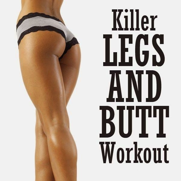 Killer Legs and Butt Workout | Medi Shortly