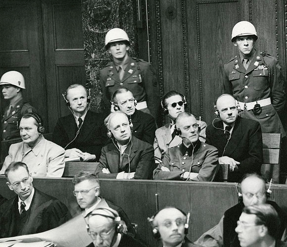the beginning of the nuremberg trial of nazi war criminals After world war ii, the allied forces prosecuted certain nazi leaders of the third reich for their war crimes in the famous nuremberg trials the first, and best known of these trials.