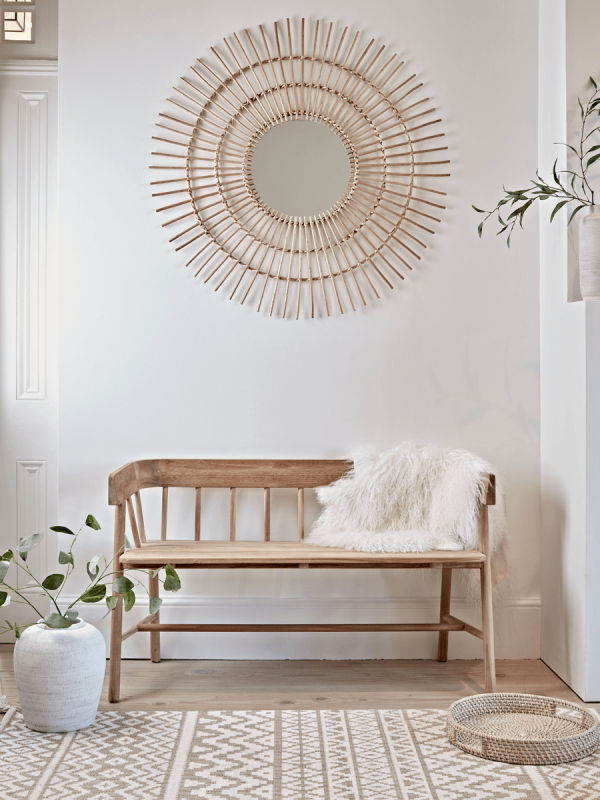 Entryway Bench And Shelf