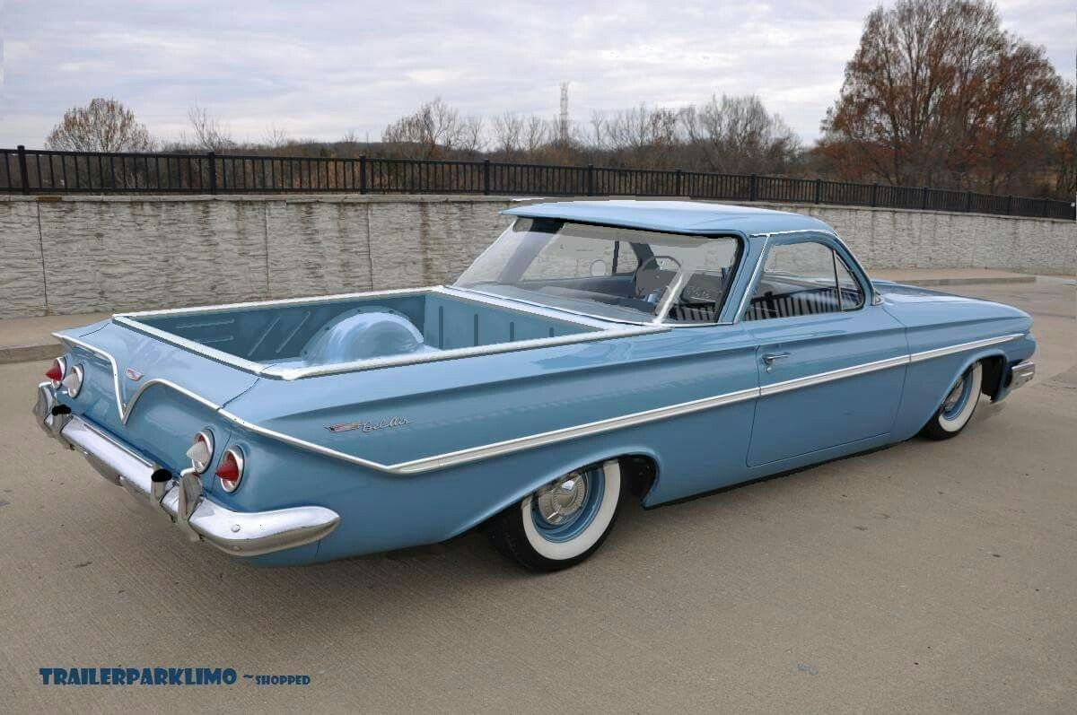 1961 Chevrolet El Camino With Images Classic Cars Chevy