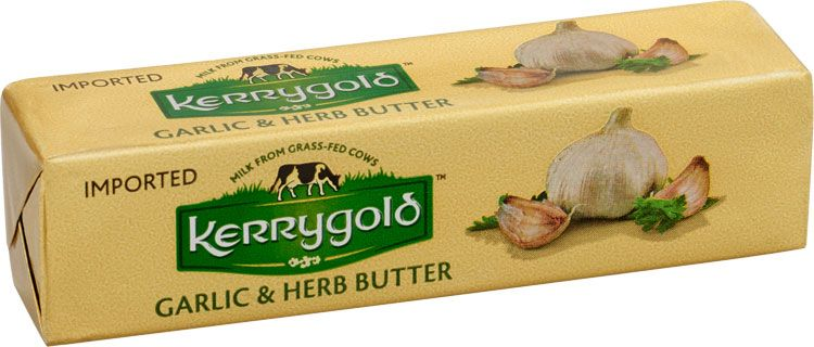 Image result for kerrygold imported garlic and herb butter