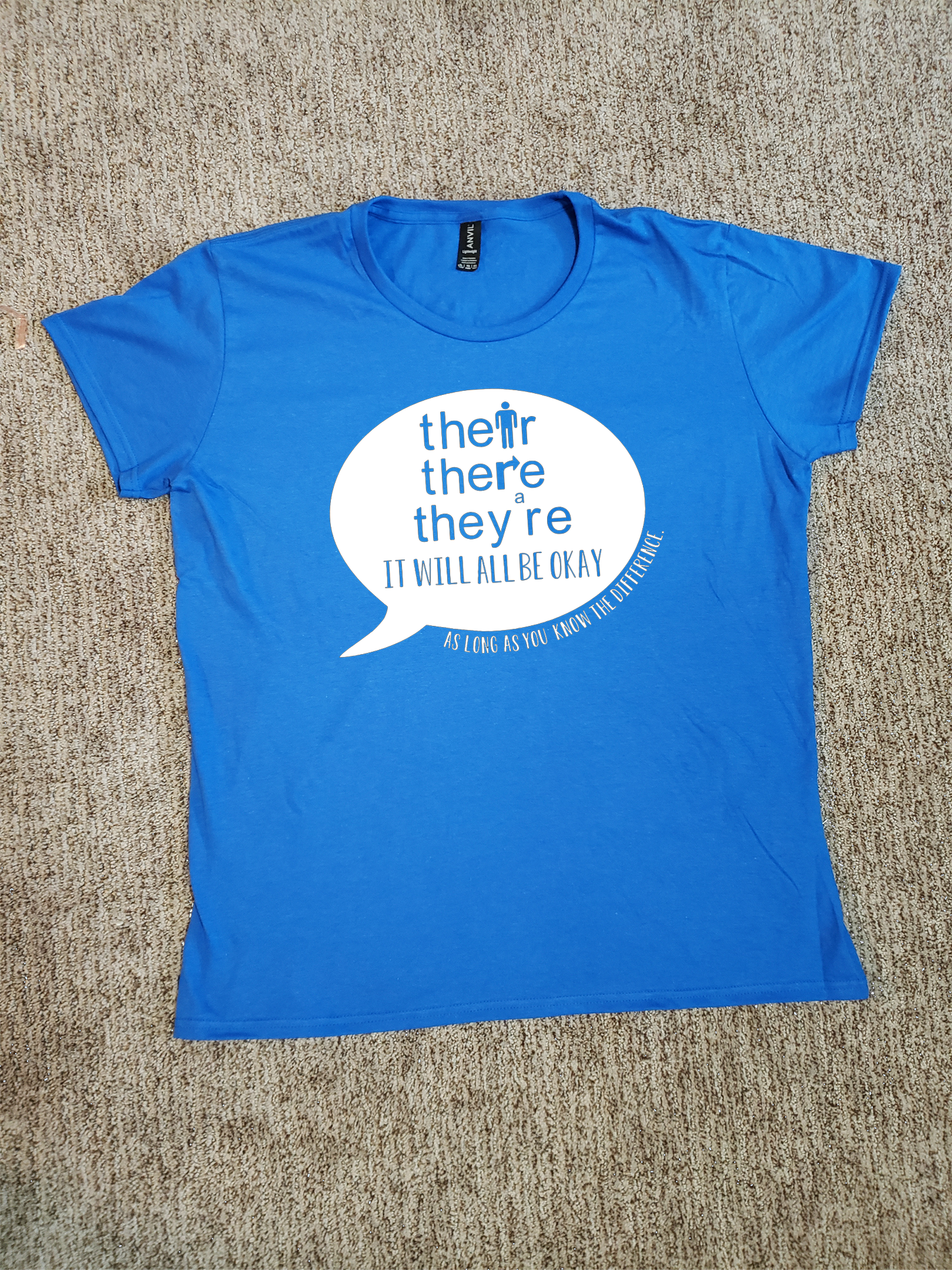 Their There They Re Grammar T Shirt