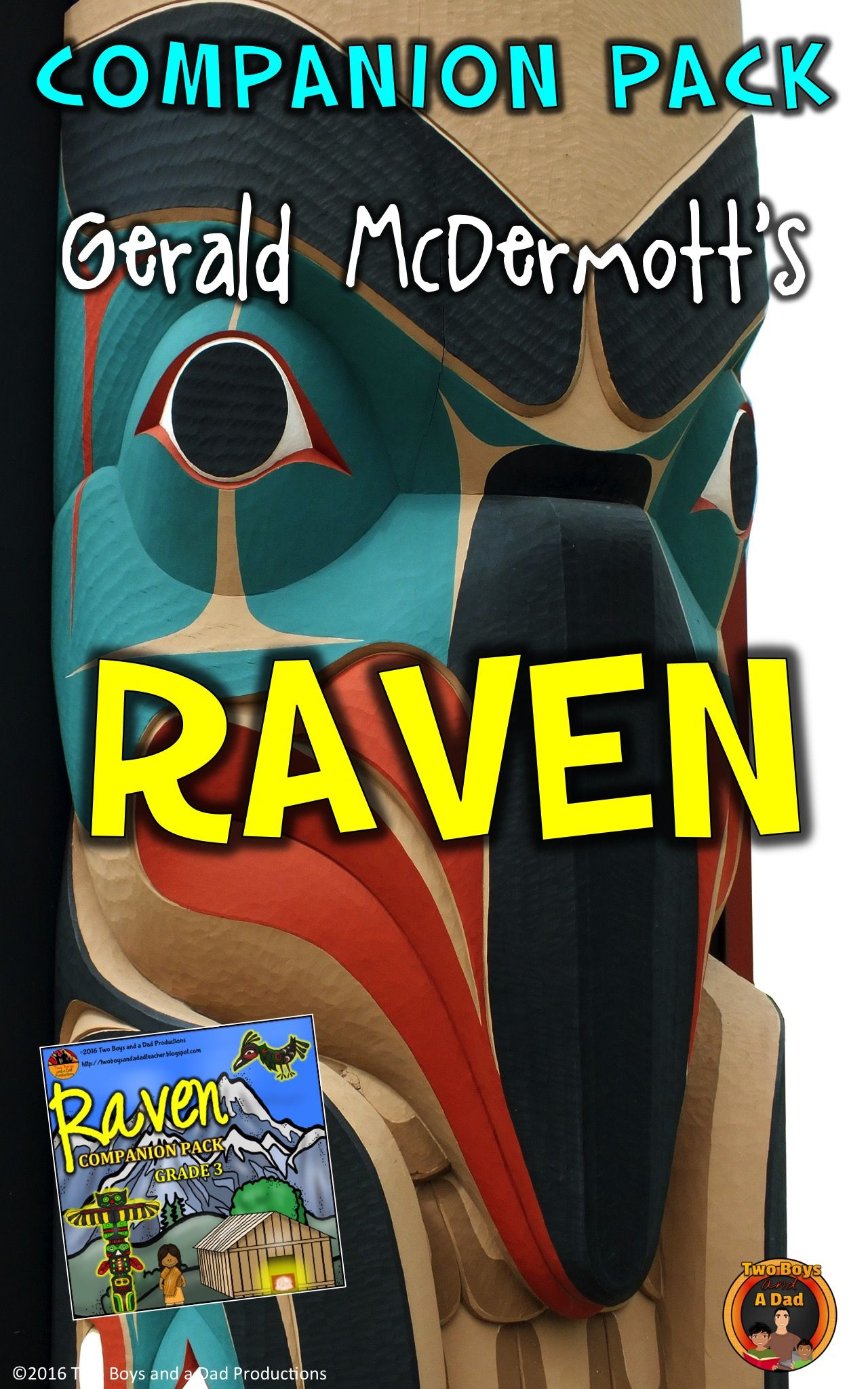 Raven Trickster Tale Literature Standards Support