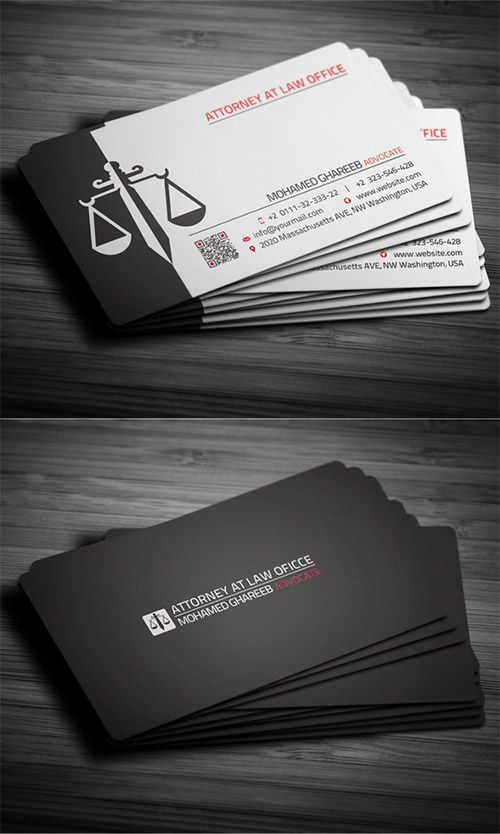 30 Must See Lawyer Business Card Designs Lawyer Business Card