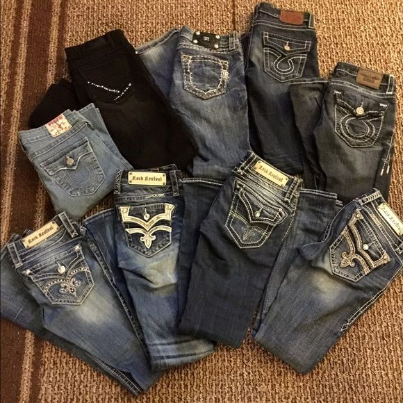 Spotted while shopping on Poshmark: Size 26 jeans for trade! #poshmark #fashion #shopping #style #Rock Revival #Denim