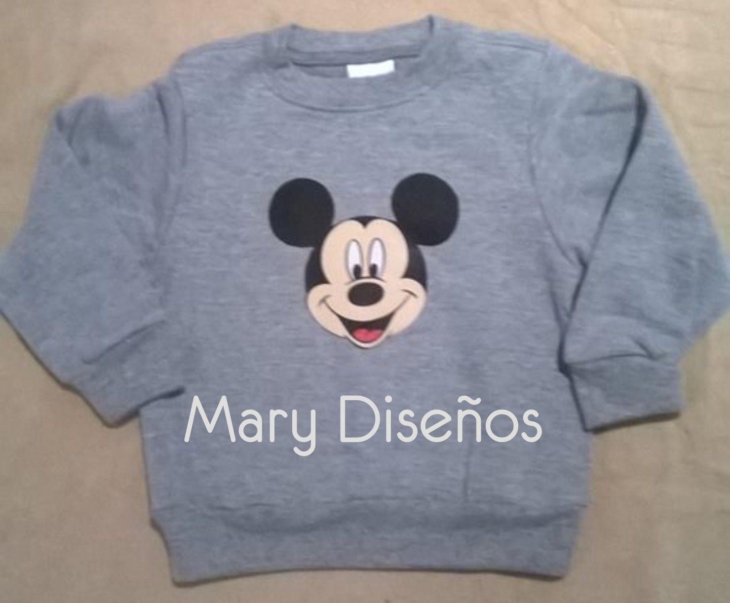 suéter mickey Personalizar 31862ddd3882a