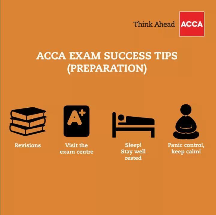 ACCA Exam Tips   ACCA tips   Exam success, Exams tips