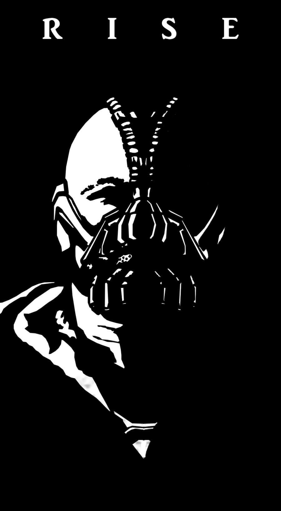 bane dark knight art - | Bane dark knight, Knight art ...