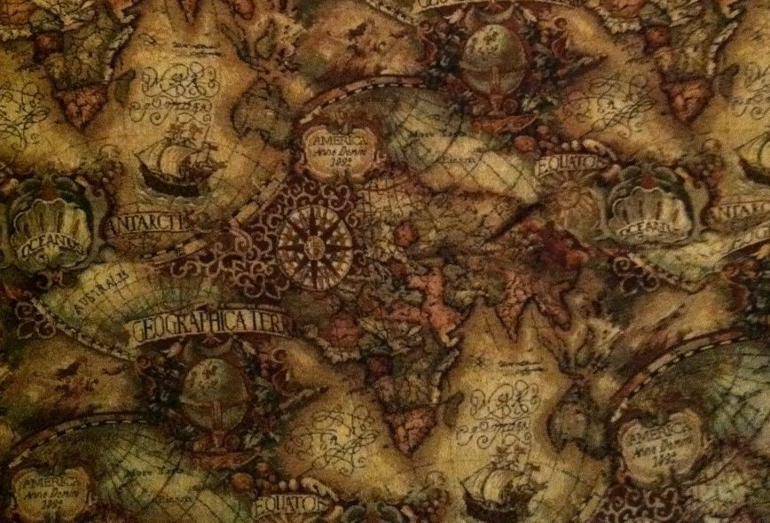 World map print tapestry upholstery fabric old world map print tapestry upholstery fabric gumiabroncs Image collections