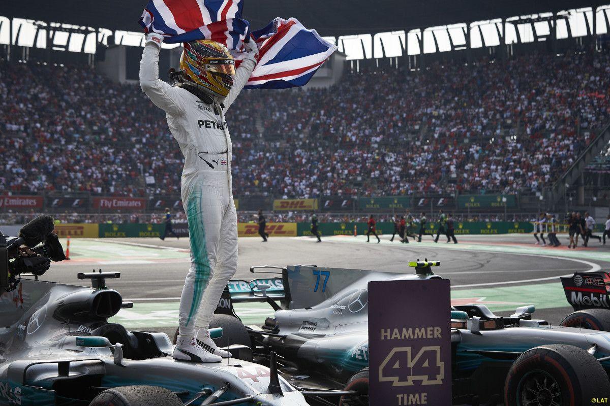 Lewis Hamilton (Mercedes), 2017 Mexican GP, Mexico City ...