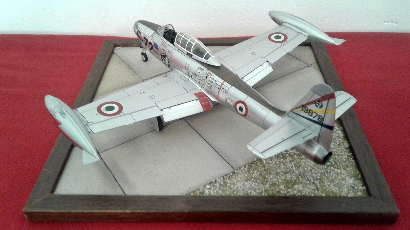Modellino Aereo F-84 G Thunderjet Scala 1:72