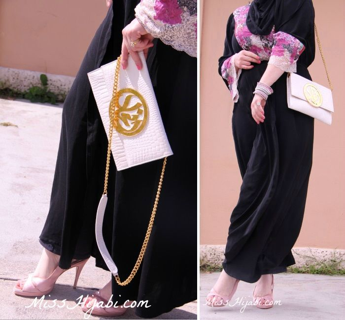 Miss Hijabi Abaya Hijab Style Islamic Blog Pink Lace