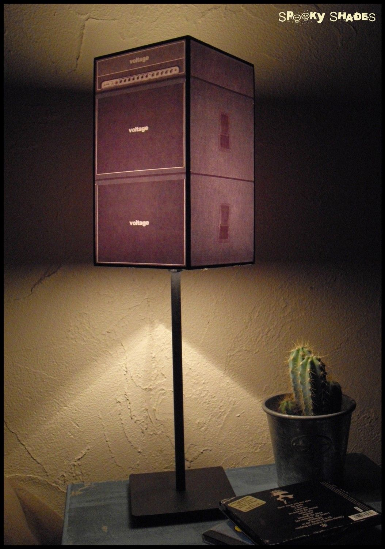 Guitar Amp Lampshade Lamp Shade Rock N Roll Decor Mens