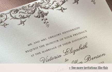 Military Weddings Invitation Wording Examples