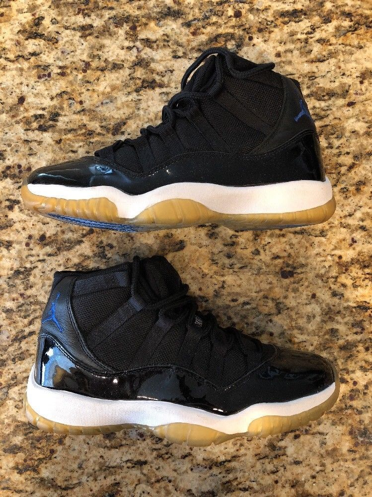 finest selection df8cc a4cd9 eBay Sponsored New 2000 Air Jordan 11 Retro Space Jam Black Royal White  Size 8 (136046-041)