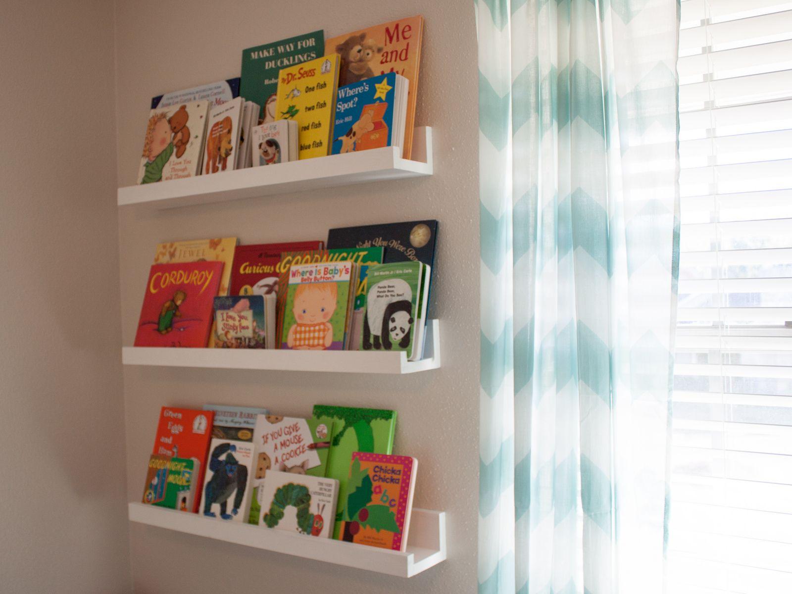 Nursery 2 repisas libros y infantiles - Estantes para libros ...