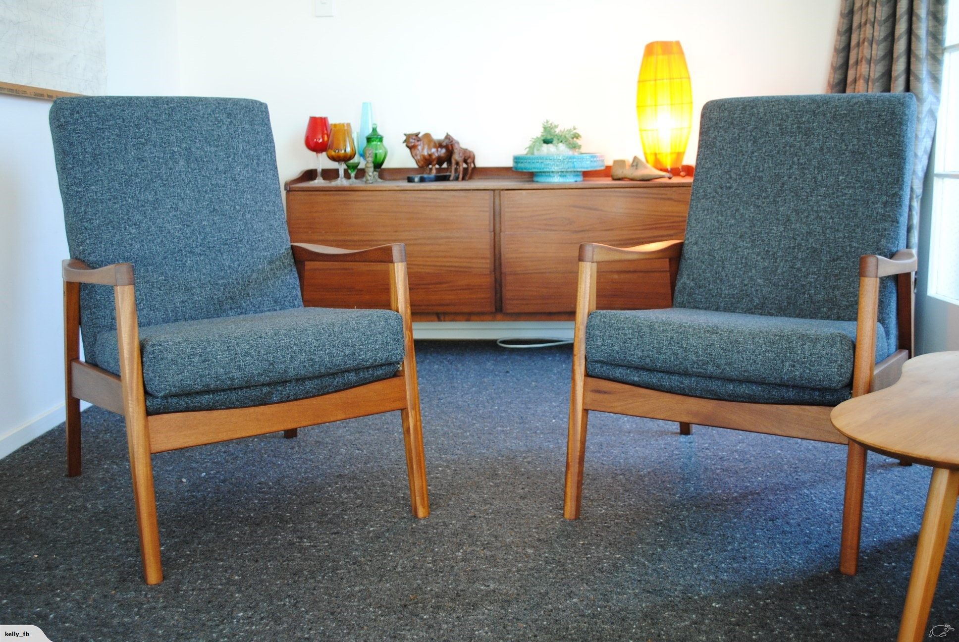 mid century airest chairs - restored | trade me | sofas