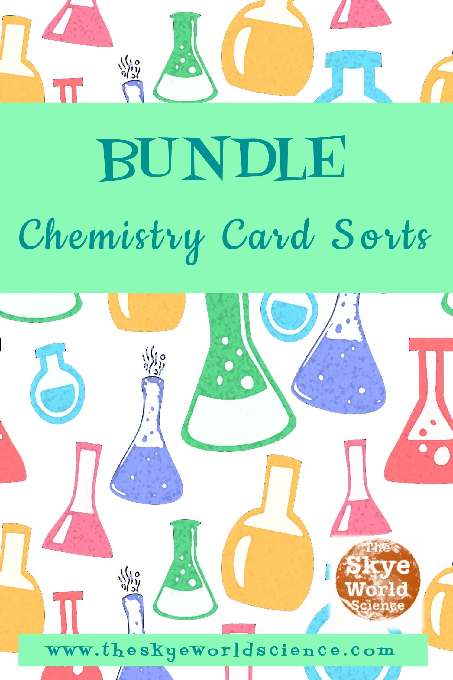 This Bundle Of Chemistry Card Sorts Includes 4 Phases Of