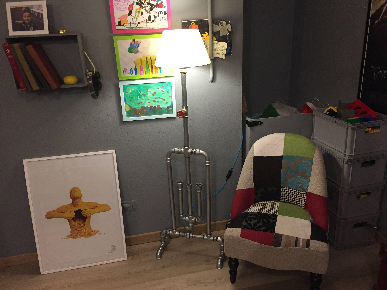 Un preferito personale dal mio negozio Etsy https://www.etsy.com/it/listing/523765764/lampada-da-pavimento-stile-industriale