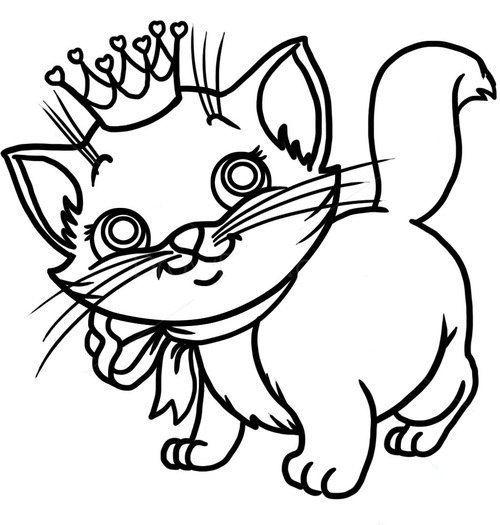 kaetzchen-einfach-malen-dekoking-com-3 | DIY | Pinterest | Katzen ...