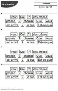 Séquence CE1 - Types et formes de phrases | Phrase interrogative, Types de phrases, Ce1