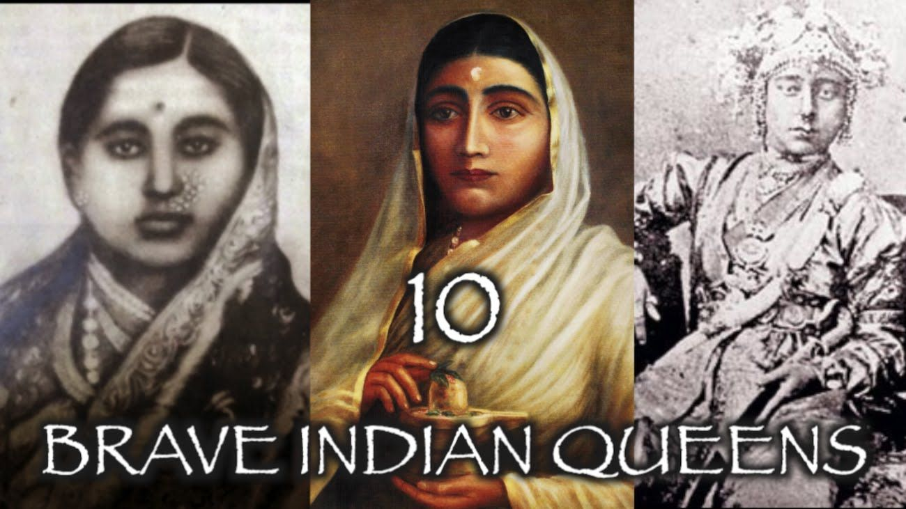 10 FEARLESS INDIAN QUEENS WHO FAUGHT TILL DEATH